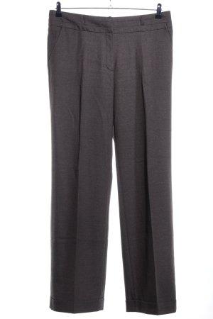 More & More Pantalon de costume gris clair moucheté style décontracté