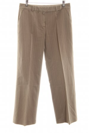 More & More Suit Trouser bronze-colored striped pattern business style