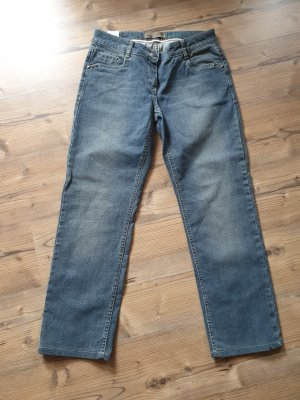 More & More Hoge taille jeans blauw
