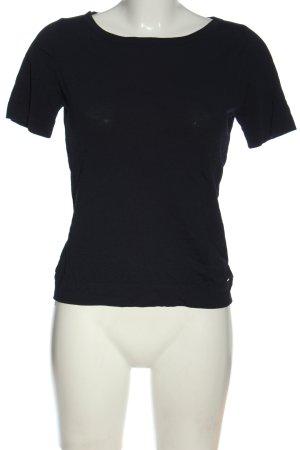 More & More Shirt basique noir style décontracté