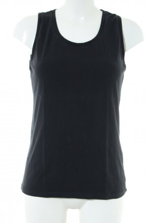 More & More Basic Top schwarz Casual-Look