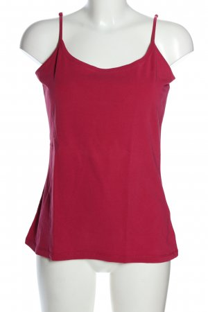 More & More Basic topje roze casual uitstraling