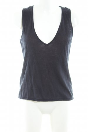 More & More Basic Top blau Casual-Look
