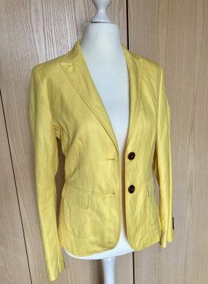 More & More Klassischer Blazer geel