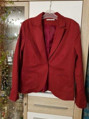 More & More Blazer stile Boyfriend rosso scuro-carminio