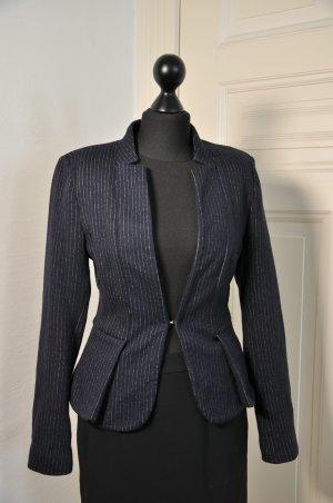 more & more blazer Wollblazer marine blau
