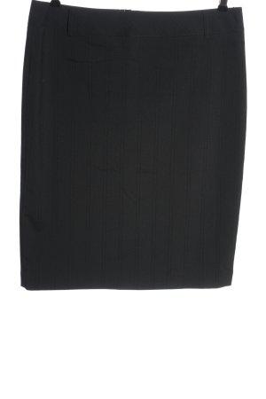 More & More Falda de tubo gris claro estampado a rayas estilo «business»