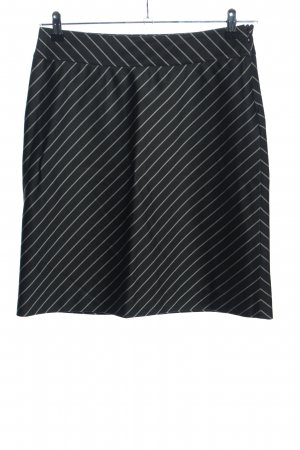 More & More Pencil Skirt black-white striped pattern business style
