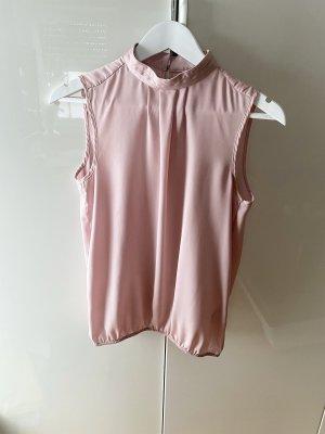 More & More Bluse ärmellos Flieder Größe 34