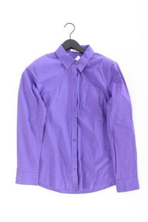 More&More Bluse Größe 42 lila aus Baumwolle