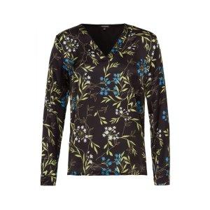 More&More Blusenshirt, Flowerprint Gr. 42