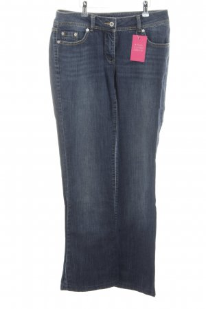 More & More Boot Cut Jeans blau Casual-Look