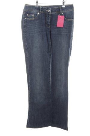 More & More Jeans bootcut bleu style décontracté