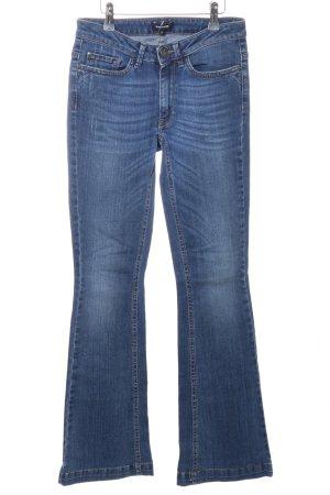 More & More Boot Cut Jeans blau Casual-Look