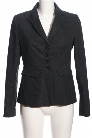 More & More Boyfriend-Blazer blau Streifenmuster Business-Look