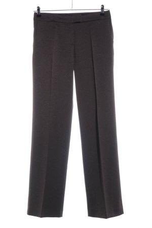 More & More Pantalon à pinces brun style d'affaires