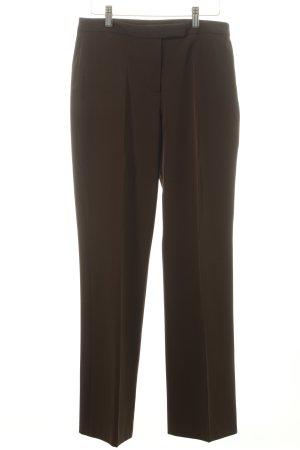 More & More Pantalon à pinces vert foncé style mouillé
