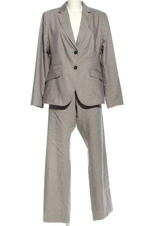 More & More Costume business gris clair Motif de tissage style d'affaires