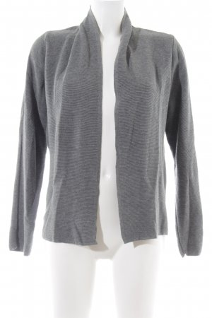 More & More Cardigan hellgrau meliert Casual-Look