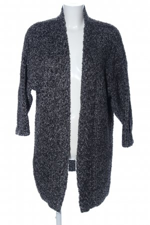 More & More Cardigan schwarz meliert Business-Look