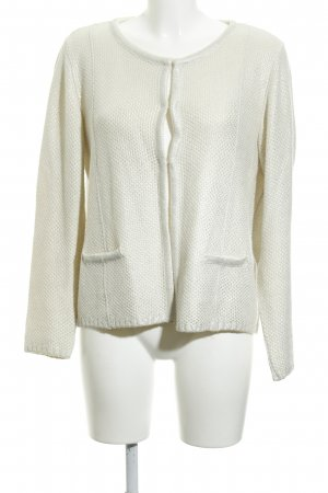 More & More Cardigan hellbeige-silberfarben Casual-Look