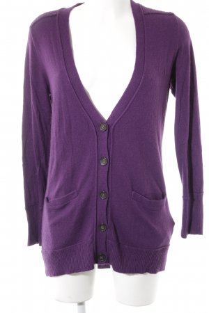 More & More Cardigan lila Casual-Look
