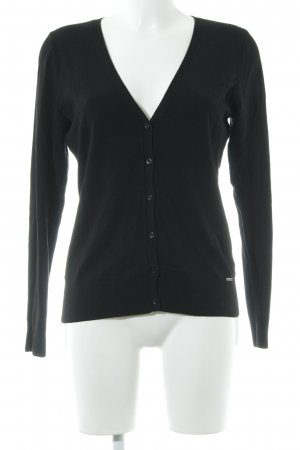 More & More Cardigan schwarz Casual-Look
