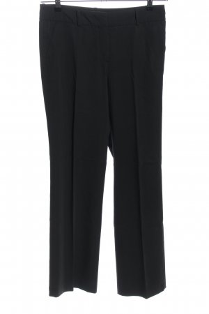 More & More Chinohose schwarz Business-Look