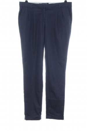 More & More Chinohose blau Business-Look