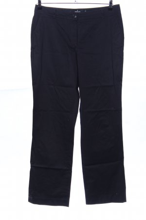 More & More Chinohose schwarz Casual-Look