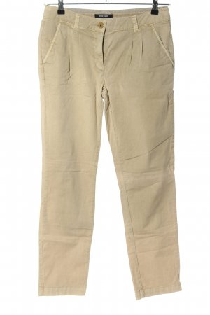 More & More Chinohose creme Casual-Look