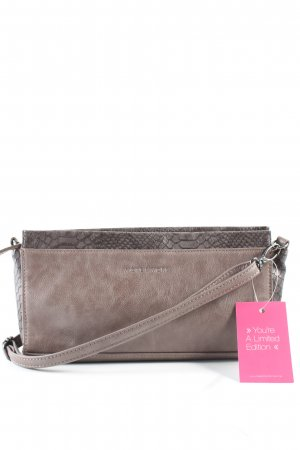 More & More Clutch braun Animalmuster Casual-Look