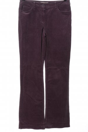 More & More Corduroy broek lila casual uitstraling