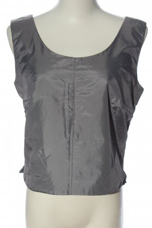 More & More Blouse topje lichtgrijs casual uitstraling