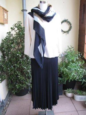 More & More Pleated Skirt dark blue polyester