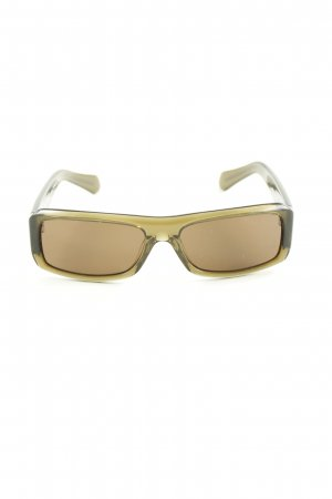 More & More eckige Sonnenbrille khaki Casual-Look