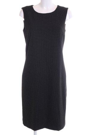 More & More Robe fourreau noir motif de tache style d'affaires