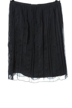 More & More Faltenrock schwarz Elegant