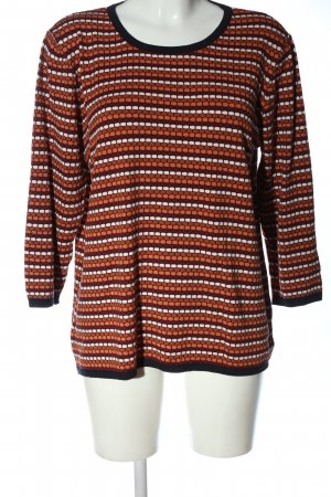 More & More Feinstrickpullover Allover-Druck Casual-Look