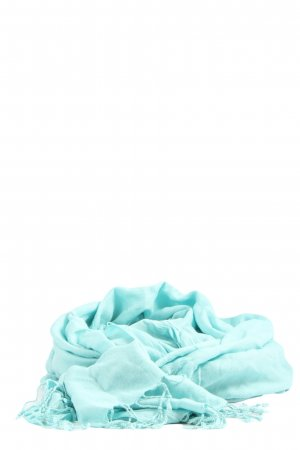 More & More Fringed Scarf turquoise casual look