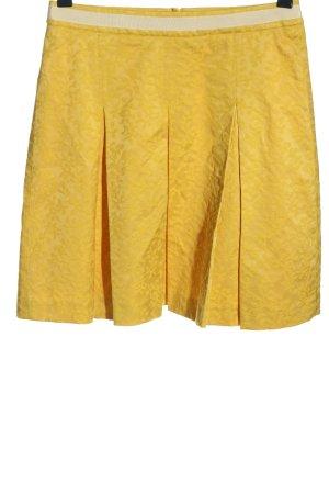 More & More Rozkloszowana spódnica bladożółty W stylu casual
