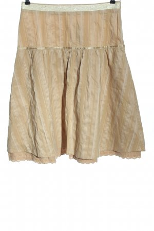 More & More Glockenrock nude-creme Allover-Druck Casual-Look