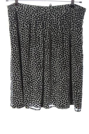 More & More Gonna a campana grigio chiaro-nero stampa integrale stile casual