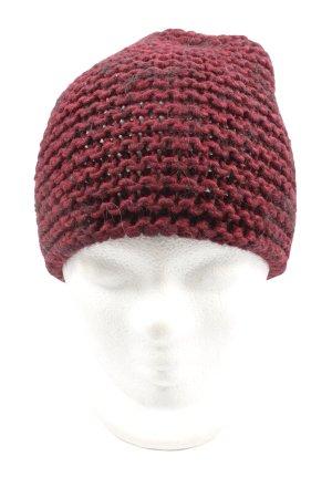 More & More Crochet Cap red casual look