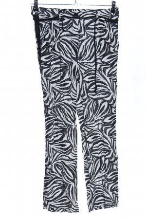 More & More Harem Pants black-white allover print casual look