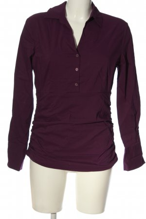 More & More Hemd-Bluse rot Casual-Look