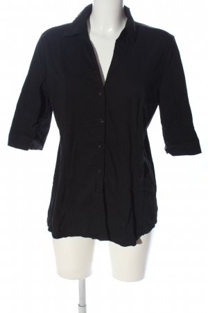More & More Hemd-Bluse schwarz Casual-Look