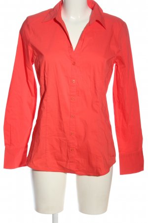 More & More Hemd-Bluse rot Business-Look
