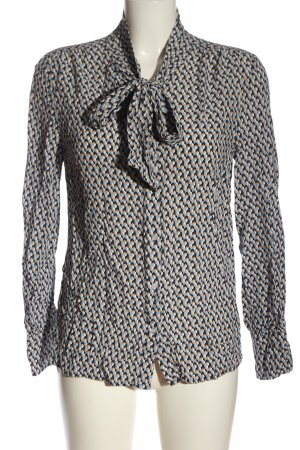 More & More Hemd-Bluse Allover-Druck Business-Look