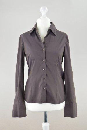 More & More Hemd Bluse braun Größe 38